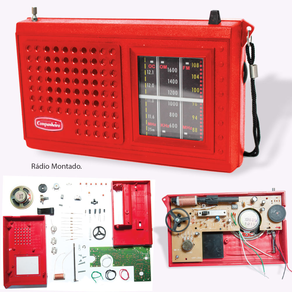 036dae331 Curso a Distância de Eletrônica Básica, Rádio e TV - Instituto Universal  Brasileiro